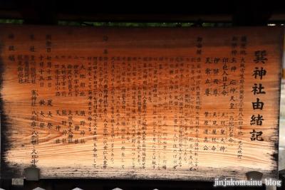 巽神社(大阪市生野区巽南)1