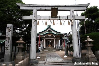 巽神社(大阪市生野区巽南)2