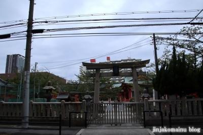 土佐稲荷神社(大阪市西区北堀江)1