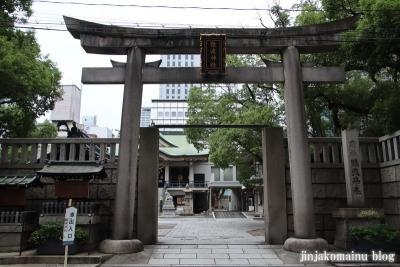 難波神社(大阪市中央区博労町)2