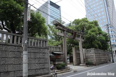 難波神社(大阪市中央区博労町)1