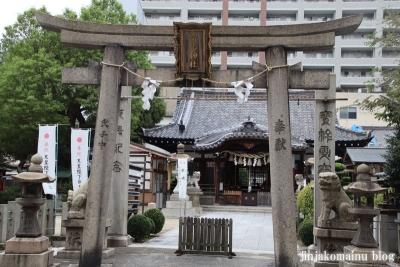 富島神社(大阪市北区中津)2