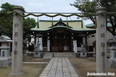 長柄八幡宮(大阪市北区長柄中)5