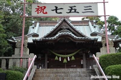 鹿島神社  模原市南区上鶴間本町11