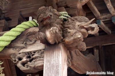 鹿島神社  模原市南区上鶴間本町21