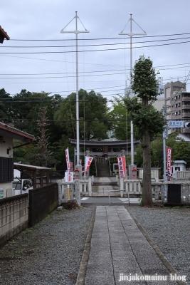 鹿島神社  模原市南区上鶴間本町5