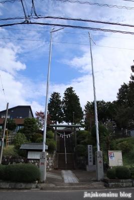 杉山神社  町田市つくし野1