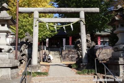 諏訪神社  (町田市相原町)6