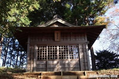 御嶽神社  (町田市相原町)2
