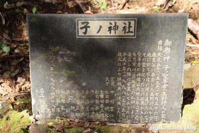 子ノ神社  町田市相原町4