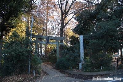 稲荷神社  (東村山市恩多町)1