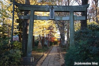 稲荷神社  (東村山市恩多町)3