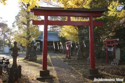 稲荷神社  (東村山市恩多町)6
