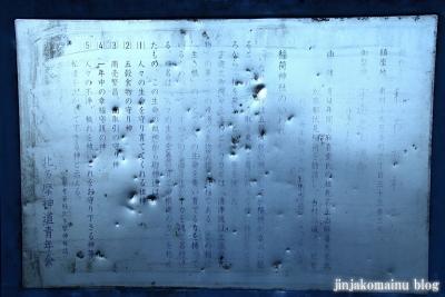 稲荷神社  (東村山市恩多町)8