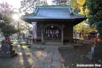 稲荷神社  (東村山市恩多町)9