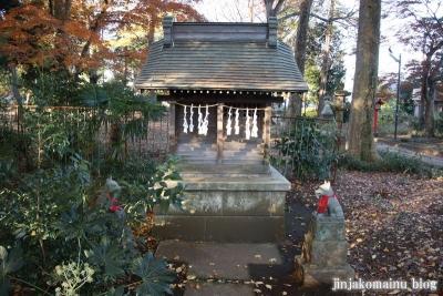 稲荷神社  (東村山市恩多町)18