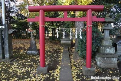 稲荷神社  (東村山市恩多町)21