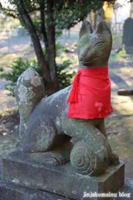 稲荷神社  (東村山市恩多町)11