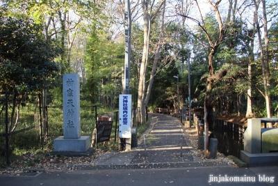 柳窪天神社  (東久留米市柳窪)1