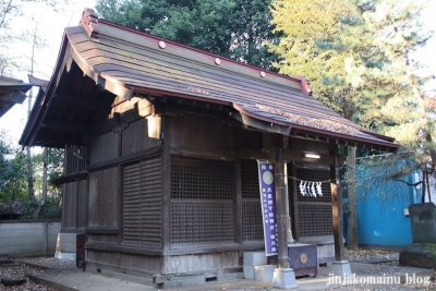 柳窪天神社  (東久留米市柳窪)7