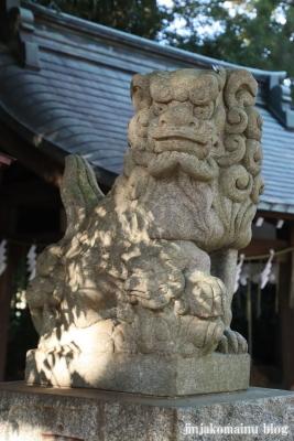南大沢氷川神社(東久留米市南沢)3