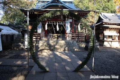 南大沢氷川神社(東久留米市南沢)4