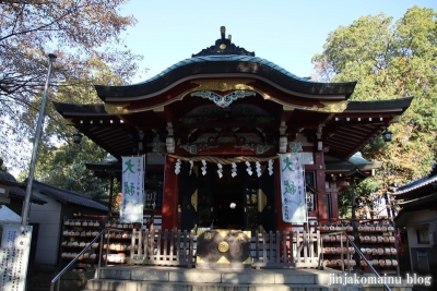 南大沢氷川神社(東久留米市南沢)7