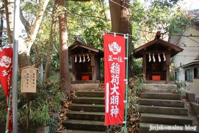 南大沢氷川神社(東久留米市南沢)10