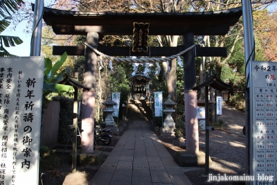 南大沢氷川神社(東久留米市南沢)15