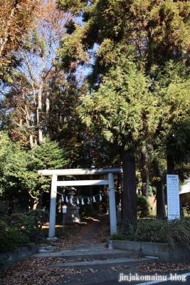 神明社(東久留米市中央町)1