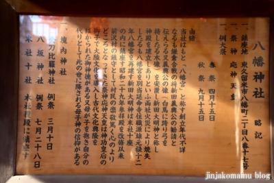 前沢八幡神社(東久留米市八幡町)3