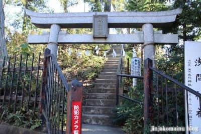 竹丘浅間神社(清瀬市竹丘)2