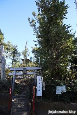 竹丘浅間神社(清瀬市竹丘)1