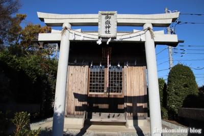 御嶽神社(東久留米市小山)3