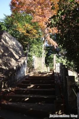 御嶽神社(東久留米市小山)1