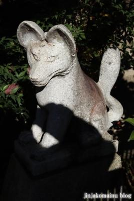 稲荷神社(東久留米市新川町)2