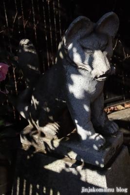 稲荷神社(東久留米市新川町)3