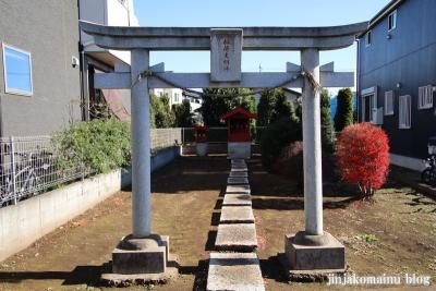 稲荷神社(東久留米市神宝町)1