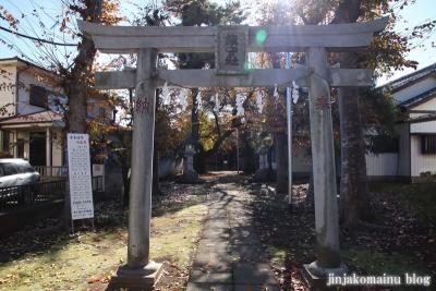 神山氷川神社(東久留米市神宝町)2