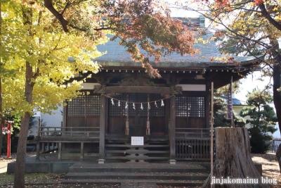 神山氷川神社(東久留米市神宝町)5