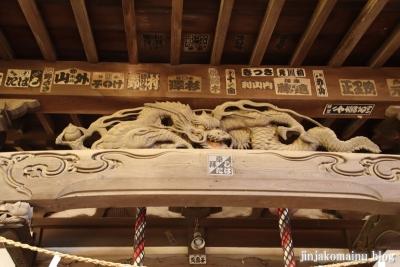 神山氷川神社(東久留米市神宝町)9