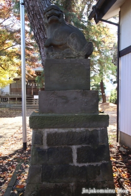 神山氷川神社(東久留米市神宝町)14