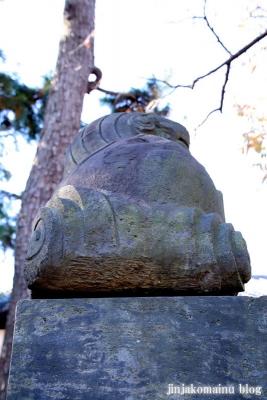 神山氷川神社(東久留米市神宝町)21