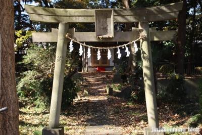 厳島神社(東久留米市金山町)1