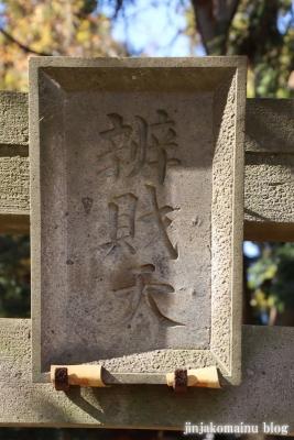 厳島神社(東久留米市金山町)2