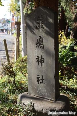 厳島神社(東久留米市金山町)3