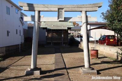 白山神社  清瀬市下宿1