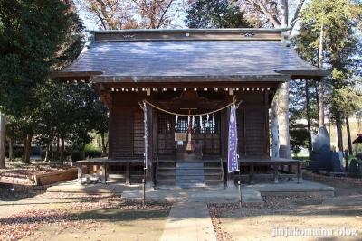 下宿八幡神社  清瀬市下宿11