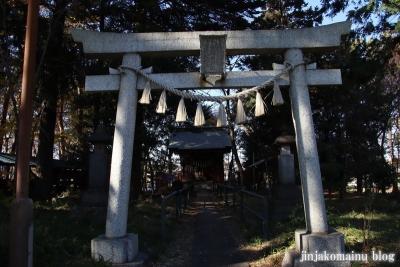 上宮稲荷神社  清瀬市下宿2