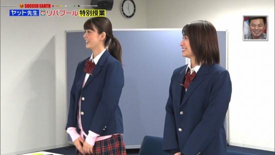 笹崎里菜&佐藤梨那の貴重なJKルック!! (5)